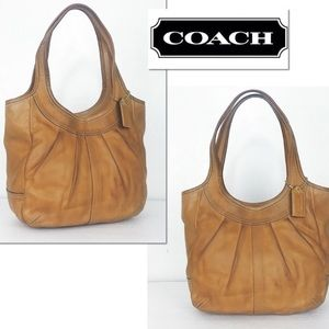 COACH | Ergo pleated hobo bag/handbag/purse #12240